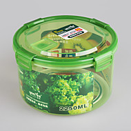 ronda de alimentos hermético contenedor 2250ml