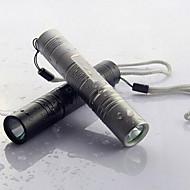 mini førte lyse lommelygte genopladelige vandtæt lommelygte til udendørs