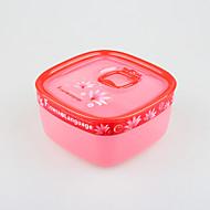 caja de almacenamiento de plástico transparente Suqre 1 litro
