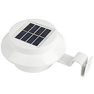 1PC 3Led Solar Human Body Induction Wall Lamp  Solar Street Light Garden Light