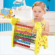pedagogisk leksak pussel leksak Cirkelrunda / Triangel Wood Regnbåge Till barn under 3