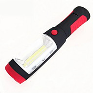 Waterproof Outdoor Work Lights Plastic  Multifunctional LED Flashlight Maintenance Lights 3 AAA Batteries(Not Included)