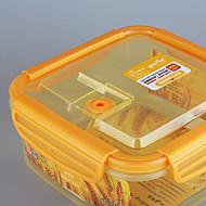 Food Grade Airtight Container Microwave Sealed Crisper