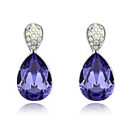 Thousands of colors Earring OthersJewelry 1 pair Fashionable Alloy Silver Daily