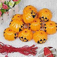 1szt ted dostaw dekoracji Halloween dynia straszy duch kreskowych KTV szkielet głowy lampka nocna latarnie ciągów