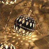 20-led 2,5 tähden valo vedenpitävä pistoke ulkona joululomaa koriste valo johti string valo