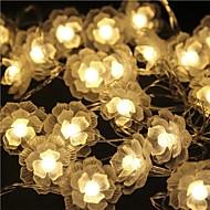 40-led 5m tähden valo vedenpitävä pistoke ulkona joululomaa koriste valo johti string valo