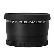 52mm 2.0x teleobjektiv pro Nikon D90 D80 D700 D3000 D3100 D3200 D5000 D5100 d5200 18-55mm DSLR