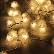 liderada por 40 5m luz de la estrella tapón impermeable al aire libre de la decoración de luces navideñas Navidad llevó la luz de la
