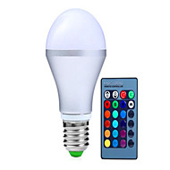 10W AC85-265V E14 / GU10 / E26/E27 / B22 LED Smart Bulbs A70 9 High Power LED 1100 lm RGB Dimmable / Remote-Controlled / Decorative V 1 pcs