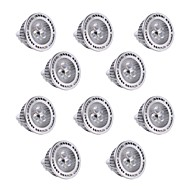 10Pcs YWXLight MR16 3W SMD 3030 300-400 LM Warm White / Cool White LED Spotlight AC/DC 12V