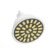6W MR16 LED Spotlight 32 SMD 5733 500-700 lm Warm White / Cool White AC 110V/ AC 220V