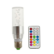 AC85-265V 3W E14 / GU10 / E26/E27 / B22 LED Smart Bulbs R39 3 High Power LED 280 lm RGB V 1 pcs