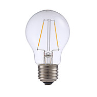 2W E26 LED Filament Bulbs A17 2 COB 200 lm Warm White Dimmable 120V 1 pcs