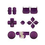 controladora de repuesto kit de montaje para el caso sentó naranja mando de PS3 / violeta / rosa