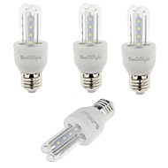 YouOKLight 4PCS E27 3W 210lm Warm White/White Light  16 SMD 2835 LED Corn Lamps (AC 85-265V)