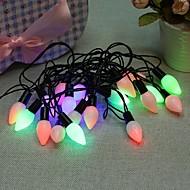 40 geleide 3m ster licht waterdichte plug outdoor decoratie licht kerst vakantie geleid snaar licht