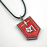 Inspired by Dead  Anime Cosplay Accessories Necklace Red Alloy