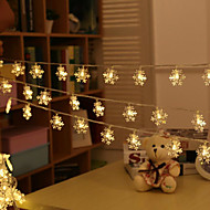 الثلوج المصابيح أضواء فلاش هو مهرجان شجرة عيد الميلاد 20 مصباح 3meter