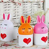 Room Bedside Lamp Cute Cartoon Rabbit Midnight Lamp Voice Control Lamp
