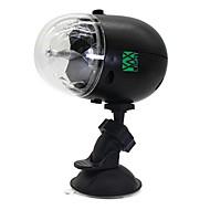 5W Festoon LEDステージライト 回転可能 1 ハイパワーLED 300-400 lm RGB 音検知 / 充電可 / 装飾用 / 防水 V 1個