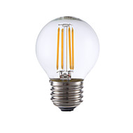 3.5W E26 LED Filament Bulbs G16.5 4 COB 350 lm Warm White Dimmable 120V 1 pcs