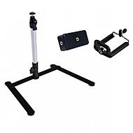 lichtgewicht ondersteuning tribune mini statief voor digitale camera& camcorder met twee klem