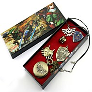 Inspired by The Legend of Zelda Link Anime Cosplay Accessories Necklace / Badge / Clock/Watch