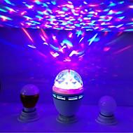 lasersteget ljus stor bubbla maskin lett ljus bar ljus magiska kulan 15,5 * 8,8 cm