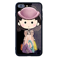 For Pattern Case Back Cover Case Cartoon Hard Acrylic for  iPhone 7 Plus  7  6s Plus 6 Plus  6s 6  SE 5s 5