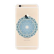 For Transparent Pattern Case  Mandala Soft TPU for Apple iPhone 7 Plus  7 iPhone 6 Plus 6  iPhone 5 SE 5C iphone 4