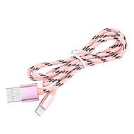 JDB® USB 3.0 Gevlochten / Normaal Kabel Voor Apple 100 cm Nylon