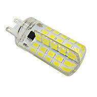 YWXLight® Dimmable G9 E12 E17 E27 5W 80LED 5730SMD 400-500 LM Cool White Warm White LED Silica Gel Corn Lamp (AC 110V/AC220V)