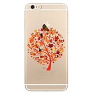 For Transparent Pattern Case Tree Soft TPU for Apple iPhone 7 Plus  7 iPhone 6s Plus 6 iPhone 5 SE 5C iphone 4