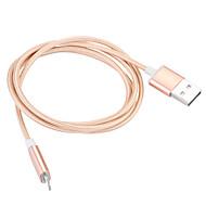JDB® USB 3.0 Magnetisch Kabel Voor Apple 100 cm Nylon