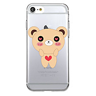 For Ultra-thin Transparent Case Back Cover Case Cartoon Soft TPU for iPhone 7 Plus  7  6s Plus 6 Plus  6s 6  se 5s 5