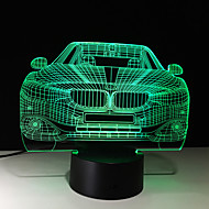 3d tocco 7 colori LED creativo piccola luce di notte