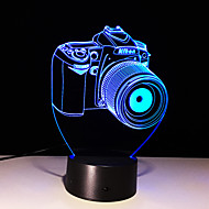 3D 7 colour Touch Led Creative Small Night Light