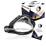 Pannlampor LED 2000 Lumen 3 Läge Cree XM-L T6 18650 Kompakt storlekCamping/Vandring/Grottkrypning Vardagsanvändning Cykling Jakt