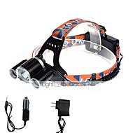 U'King® ZQ-X820B-US CREE XM-L T6/2*R5 Headlamp 5000LM LED 4 Mode for Camping Hiking Bike Outdoor Red light