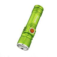 Iluminación Linternas LED LED 350 Lumens 3 Modo LED Batería de Litio Con Enfoque Ajustable A Prueba de Agua Recargable Super Ligero
