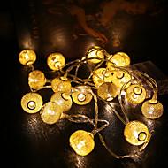 0.5W Žice sa svjetlima 1 lm <5V V 1.2 m 10 LED diode Meleg fehér