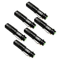 UKing ZQ-X965BX6 1500LM Cree XPE SK68 Zoomable Flashlight