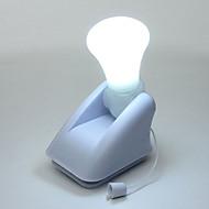 1PCS線は電球ポータブルキャビネットランプの夜の光のバッテリー自己接着壁マウントを主導しました