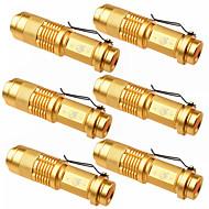 Belysning LED-Ficklampor LED 1500 Lumen 3 Läge Cree XP-E R2 14500 Justerbar fokus Camping/Vandring/Grottkrypning Vardagsanvändning Utomhus