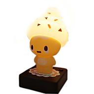 1Pcs   Novelty Ice Cream Man Nightlights Usb/Aa Battery Small Led Table Lamp  Kids Toys Children Bedroom Decor Light