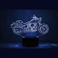 3d araç geceyarısı aydınlatması karanlık oda aydınlatma yılbaşı ışık