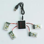 3.7V 650mAh Xpower li-po battery SYMA X5C-1 X5C X5 X5SC X5SW X6SW JJRC H9D H5C RC Drone