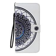 Para apple iphone 7 7 plus 6s 6 plus se 5s 5 capa capa mandala padrão pu material pintado cartão carteira stent tudo incluído telefone
