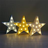 1pc 3D לילה אור פלסטיק הוביל מנורה ילדים בחדר השינה צד המנורה צד החתונה הביתה קישוטים